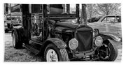 1925 Ford Model T Delivery Truck Hot Rod Beach Towel