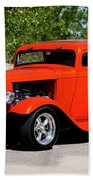 1932 Ford 3 Window Coupe  Beach Towel