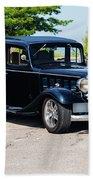 1933 Buick 50 Series Beach Towel