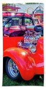 1935 Dodge Coupe Hot Rod Gasser Beach Sheet