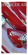 1936 Chrysler Airflow B Beach Towel