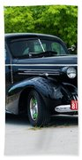 1937 Oldsmobile F 37 Beach Towel