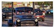 1951 Dodge Fargo Tractor Truck Beach Towel
