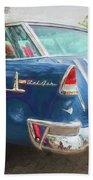 1955 Chevrolet Bel Air Nomad Station Wagon 228 Beach Towel