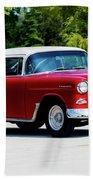 1955 Chevrolet Bel Air Beach Towel