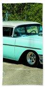 1956 Chevrolet Custom Model 2010  Beach Towel