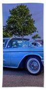 1960 Ford Thunderbird Beach Towel