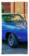 1970 Dodge Charger R/t Beach Towel