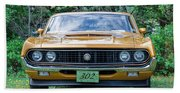 1970 Ford Torino Gt Beach Towel