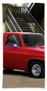 1983 Chevrolet C10 Lrhh Pickup I Beach Towel