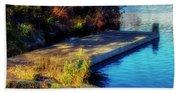Autumn Colors In Kearney Lake Beach Towel