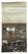 Avalon Harbor - Catalina Island, California Beach Towel