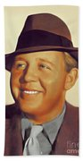 Charles Laughton, Vintage Actor Beach Towel
