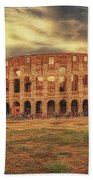 Colosseo, Rome Beach Towel