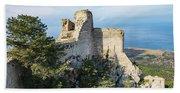 Kantara Castle, Cyprus Beach Towel