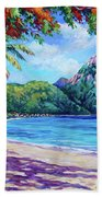 Soufriere Bay St Lucia Beach Towel