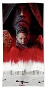 Star Wars The Last Jedi  Beach Towel
