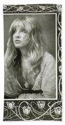 Stevie Nicks Fleetwood Mac Beach Towel