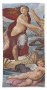 Triumph Of Galatea, Detail Beach Towel