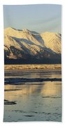Turnagain Arm And Kenai Mountains Alaska Beach Sheet