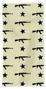 Ak-47 Pattern Beach Towel