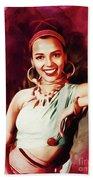 Dorothy Dandridge, Hollywood Legend Beach Sheet