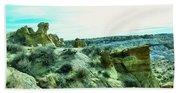 High Desert Landscape Beach Sheet