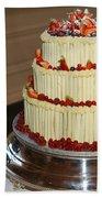 3 Layer Wedding Cake Beach Towel