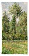 Poplars  Eragny  Beach Towel