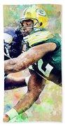 Reggie White. Green Bay Packers. Beach Towel