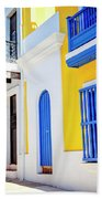 Streets Of San Juan - Puerto Rico Beach Sheet