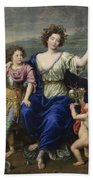 The Marquise De Seignelay And Two Of Her Sons  Beach Towel