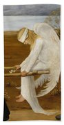 The Wounded Angel Beach Towel