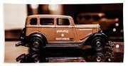 33 Plymouth Police Beach Towel
