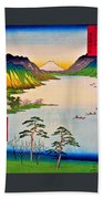 36 Views Of Mt.fuji - Shinshu Suwa Lake Beach Sheet