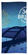 360 Bridge Beach Towel