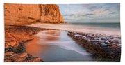 Dancing Ledge - England Beach Towel