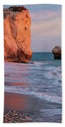 Playing At Aphrodite's Birthplace Beach Towel
