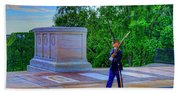 Tomb Of The Unknown Soldier Beach Towel