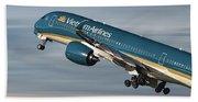 Vietnam Airlines Airbus A350 Beach Towel