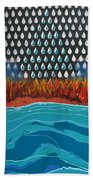 40 Years Reconciliation Beach Towel