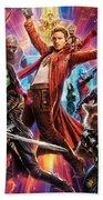 Guardians Of The Galaxy Beach Sheet