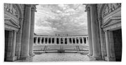 Arlington National Cemetery Memorial Amphitheater Beach Sheet