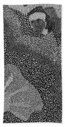 Detail From Sgt. Pepper's Mug Head Beach Towel