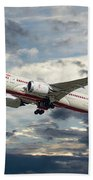 Air India Boeing 787-8 Dreamliner Beach Towel
