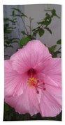 Pink Hibiscus Beach Towel