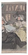 A Counselor's Opinion After He Had Retired From Practice After Thomas Rowlandson British, London 17 Beach Sheet