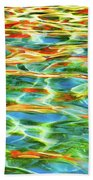 A Feast Of Colours Beach Towel