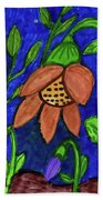 A Flower Garden Beach Towel