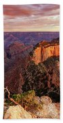 A View From Cape Royal Beach Towel by Rick Furmanek